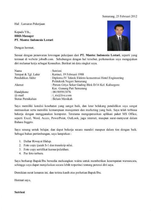 Menulis Surat Lamaran 09 Surat Lamaran 9 - Finansialku