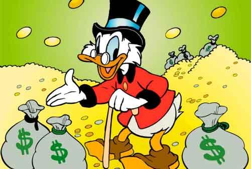 Karakter Komik Terkaya di Dunia 06 (Scrooge McDuck) - Finansialku