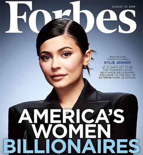 Kylie Jenner on The Youngest Ever Selfmade Billionaire 02 - Finansialku