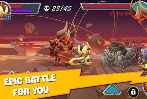 10 Rekomendasi Games Offline Android yang Seru dan Paling Menarik 04 Legendary Warrior - Finansialku