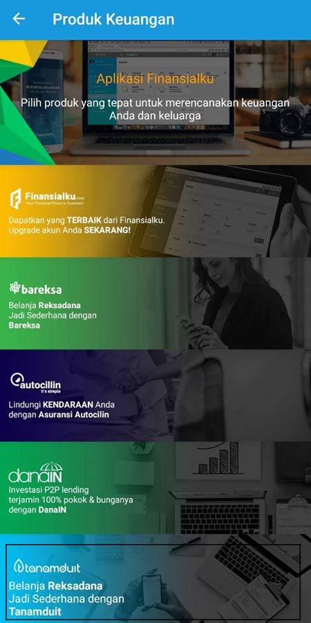 Produk Keuangan Tanamduit Aplikasi Finansialku 1