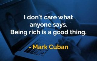 Kata-kata Bijak Mark Cuban Saya Tidak Peduli Apa Kata Orang - Finansialku