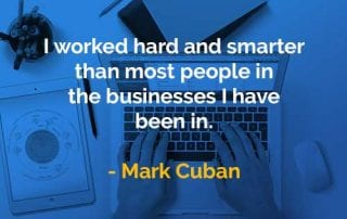 Kata-kata Bijak Mark Cuban Bekerja Keras dan Lebih Cerdas - Finansialku