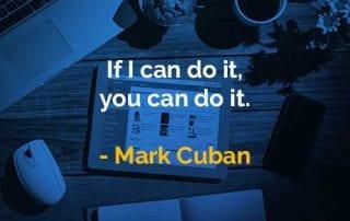 Kata-kata Bijak Mark Cuban Bisa Melakukan Hal Itu - Finansialku