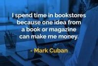 Kata-kata Bijak Mark Cuban Menghabiskan Waktu di Toko Buku - Finansialku