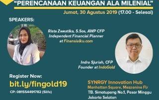 Finansialku x IndoGold Jakarta