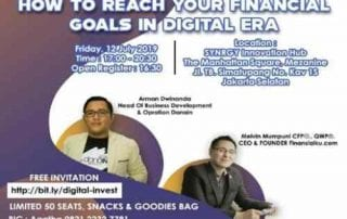 "Kolaborasi Finansialku.com dan danaIN ""How To Reach Your Financial Goals In Digital Era"" 01 - Finansialku"