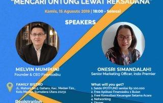 Finansialku x Ipot Medan Juli 2019