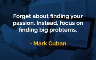 Kata-kata Bijak Mark Cuban Menemukan Masalah Besar - Finansialku