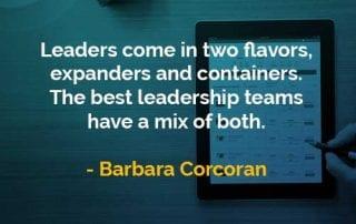 Kata-kata Bijak Barbara Corcoran Pemimpin Hadir Dalam Dua Rasa - Finansialku