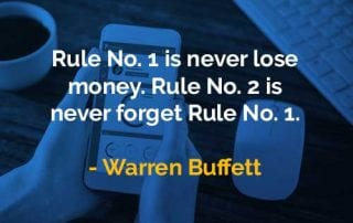 Kata-kata Bijak Warren Buffett Aturan No 1 - Finansialku