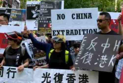 Aksi Demonstrasi Hong Kong Membuat Perekonomi Terguncang 02 - Finansialku