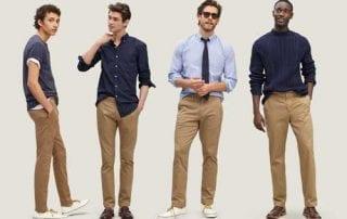 Tampil Maksimal, Ini 10 Tips Memakai Celana Chino Pria 01 - Finansialku