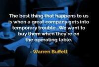 Kata-kata Bijak Warren Buffett Hal Terbaik yang Terjadi - Finansialku
