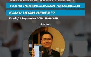 Webinar Perencanaan Keuangan September