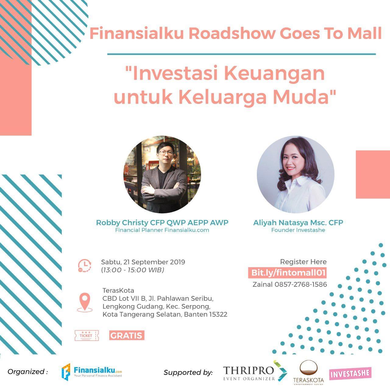 Finansialku Goes To Mall: Investasi Keuangan Untuk Keluarga Muda