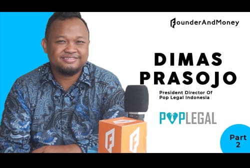 Dimas Prasojo President Director of Pop Legal Indonesia