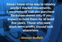 Kata-kata Bijak Warren Buffett Memprediksi Pergerakan Pasar - Finansialku