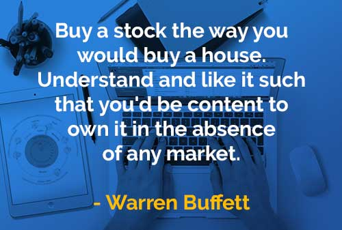 Kata-kata Bijak Warren Buffett Beli Saham Seperti Anda Akan - Finansialku