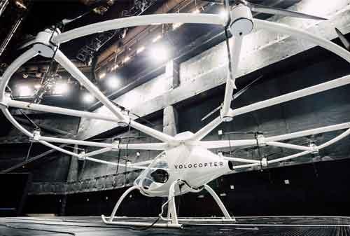 Geely Berinvestasi Rp775,2 Miliar di Mobil Terbang Volocopter 02 - Finansialku