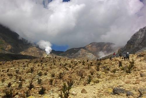 Gunung dan Kawah Papandayan - Finansialku
