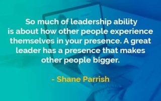 Kata-kata Bijak Shane Parrish Kemampuan Kepemimpinan - Finansialku