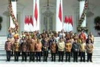 Resmi! Ini Daftar Menteri Kabinet Indonesia Maju 2019-2024 01