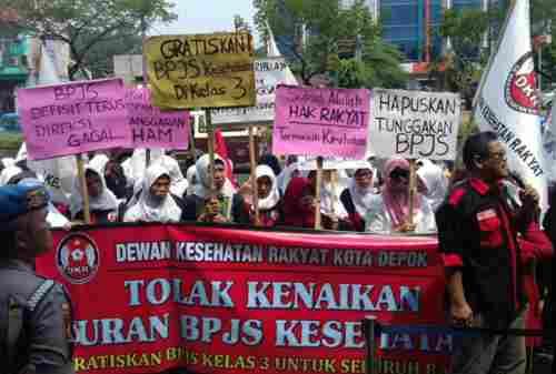 Berlaku 1 Januari 2020, Kenaikan Iuran BPJS Kesehatan Ditolak Buruh 01