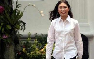 Angela Tanoesoedibjo Si Cantik Berbakat Wamen Termuda Jokowi 02