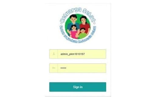 Tampilan Aplikasi Keluarga Sehat - Finansialku