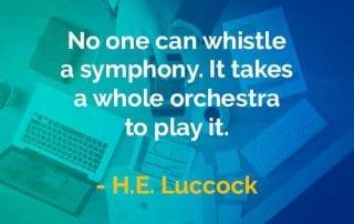 Kata-kata Bijak H.E. Luccock Bersiul Simfoni - Finansialku