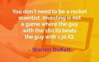 Kata-kata Bijak Warren Buffett Menjadi Ilmuwan Roket - Finansialku
