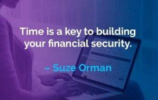 Kata-kata Motivasi Suze Orman Waktu Adalah Kunci Untuk - Finansialku