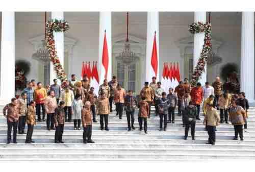 Resmi! Ini Daftar Menteri Kabinet Indonesia Maju 2019-2024 2
