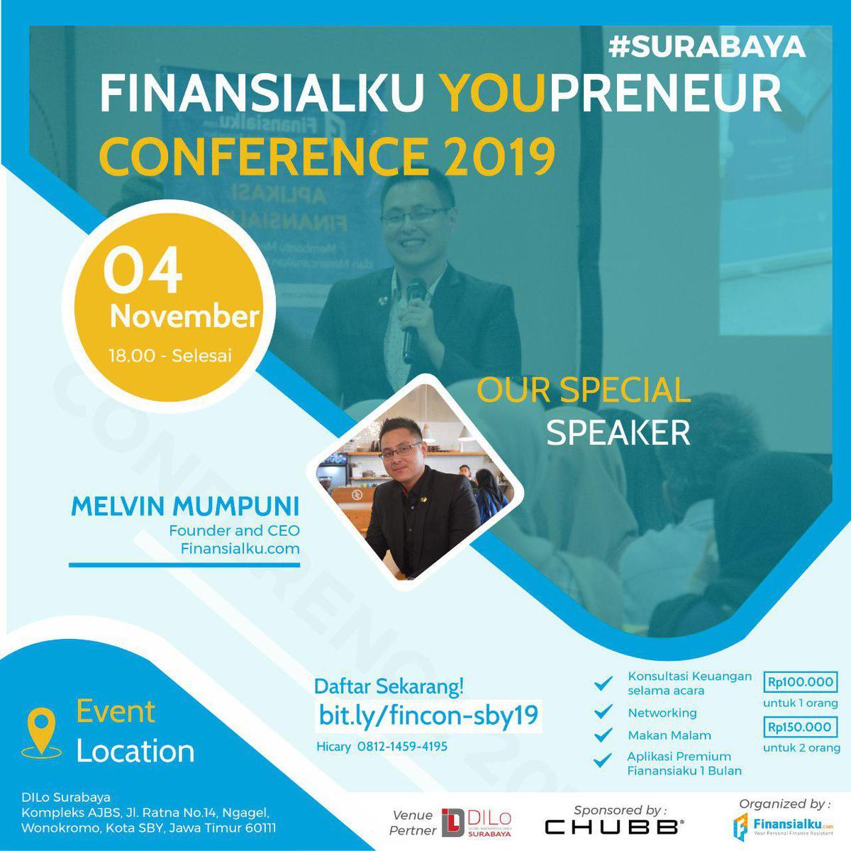Finansialku Youpreneur Surabaya 2019