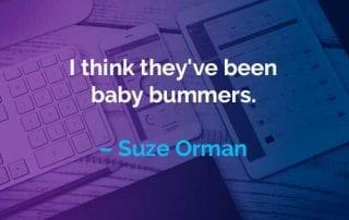 Kata-kata Motivasi Suze Orman Generasi Baby Boomers - Finansialku