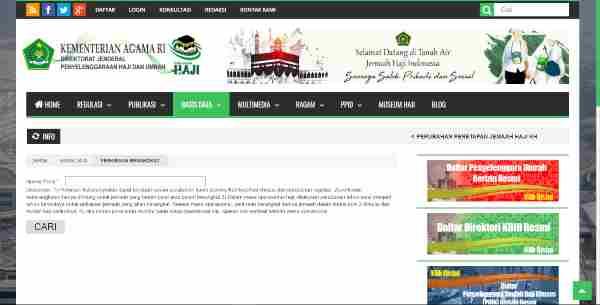 Cek Keberangkatan Haji Melalui Situs Kementerian Agama RI