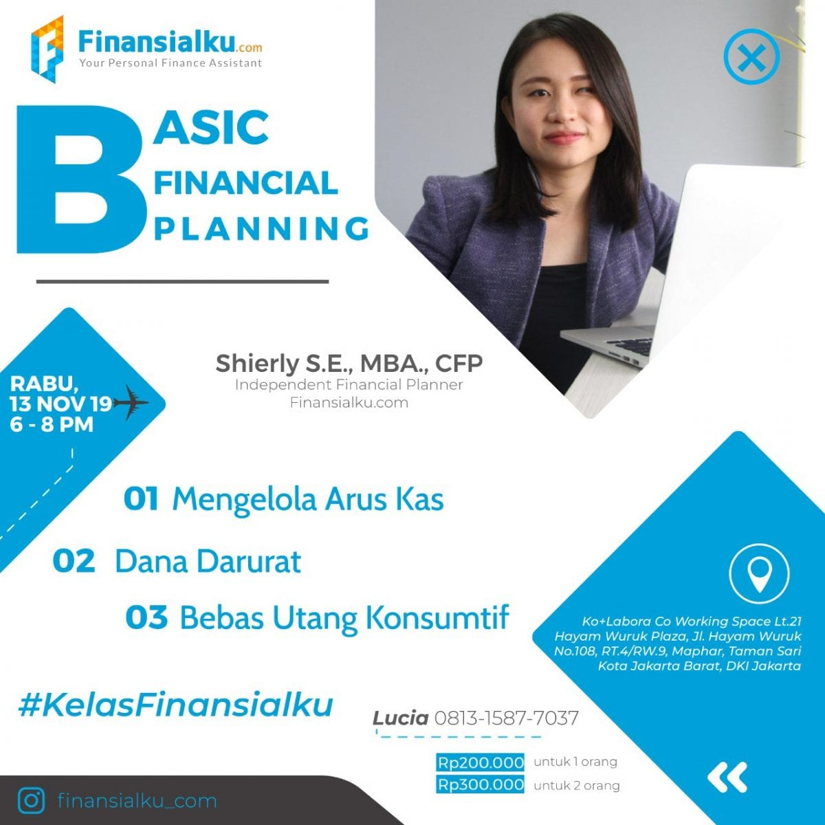 Basic Financial Planning 13 Nov 2019 Jakarta