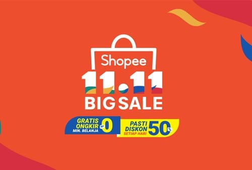 Promo Shopee 11.11 Big Sale - Finansialku