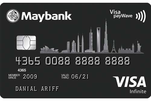 Kartu Kredit Maybank Visa Infinite - Finansialku
