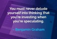 Kata-kata Motivasi Benjamin Graham Menipu Diri Sendiri - Finansialku