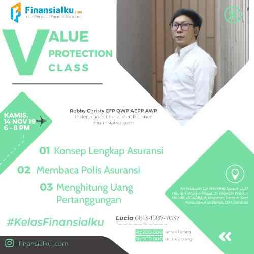 Value Protection Class 14 Novmber Jakarta