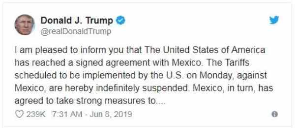 Perang Dagang dengan China Belum Usai, Kini AS vs Meksiko Mencuat 004