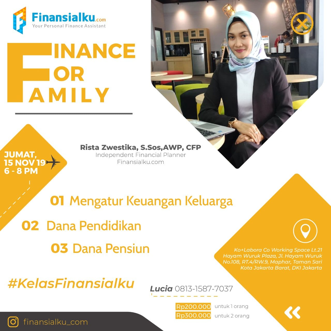 Finance For Family Jakarta 15 November 2019