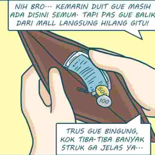 Komik Komik_ Apa Perlu UANG Dipasang _Alat Pelacak Benda Hilang__ BISAAA! 3