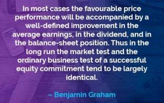 Kata-kata Motivasi Benjamin Graham Kinerja Harga yang Menguntungkan - Finansialku