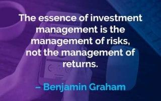 Kata-kata Motivasi Benjamin Graham Manajemen Investasi - Finansialku