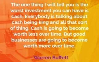 Kata-kata Bijak Warren Buffett Investasi Terburuk - Finansialku