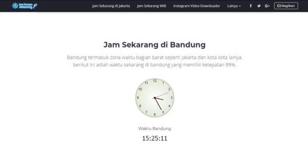 Jam Berapa Sekarang Yuk Cari Tahu Melalui Jam Online 04 - Finansialku