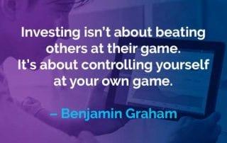 Kata-kata Motivasi Benjamin Graham Mengalahkan Orang Lain - Finansialku